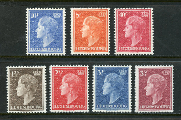 Luxembourg Scott 265-71  mint NH