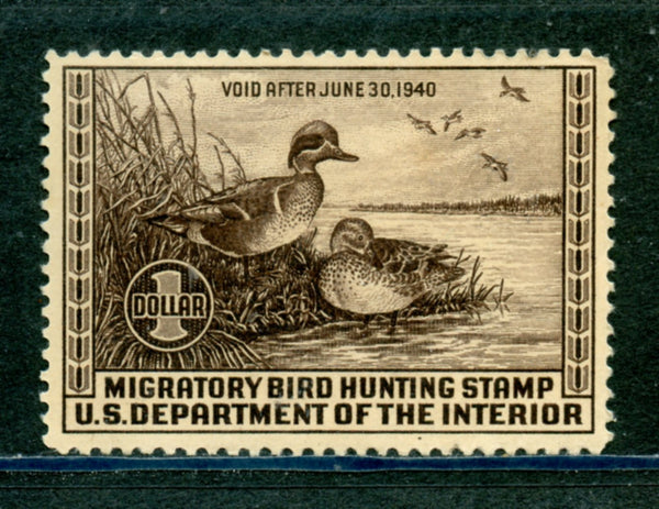 US Scott RW6 Mint NH Duck Stamp