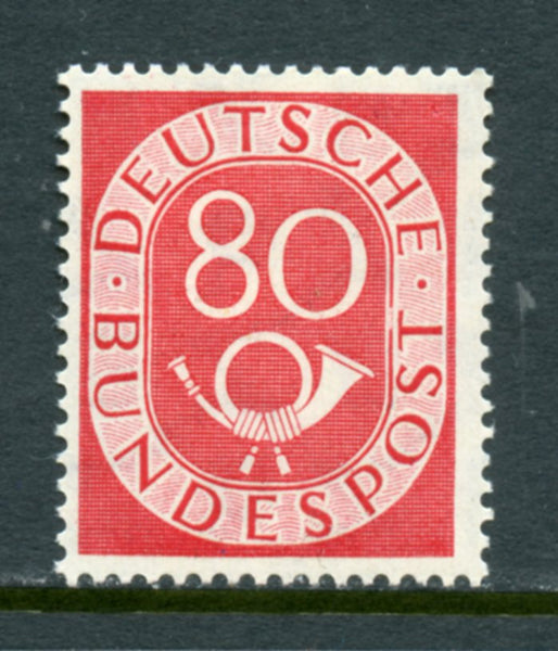 Germany Scott 684, Mi 137 Mint Lightly Hinged