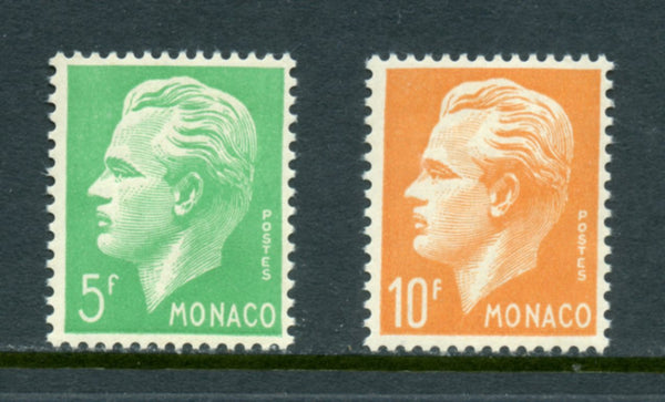 Monaco Scott 258-59 Mint NH