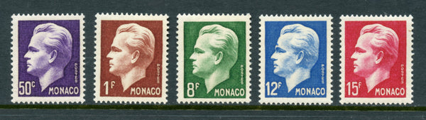 Monaco Scott 253-57 Mint NH