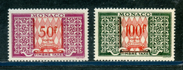 Monaco Scott J38-38A Mint NH
