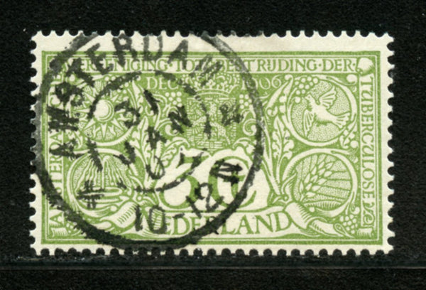 Netherlands Scott B2 Used  Nice cancel
