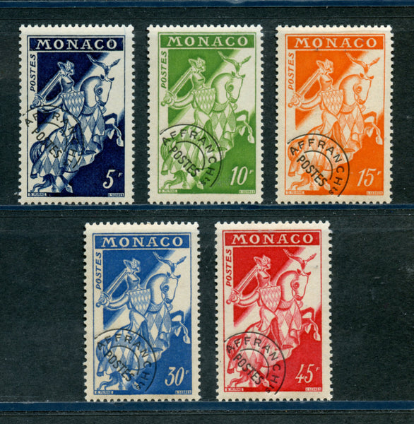 Monaco Scott 400-404 Mint NH