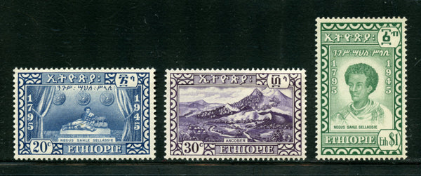 Ethiopia Scott 281-83  mint Never Hinged