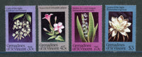 St. Vincent Grenadines Scott 968-71 Orchids Mint NH Set