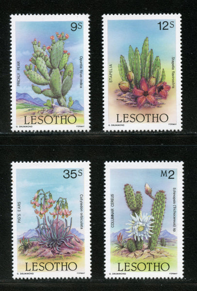 Lesotho Scott Cactus Set Mint NH