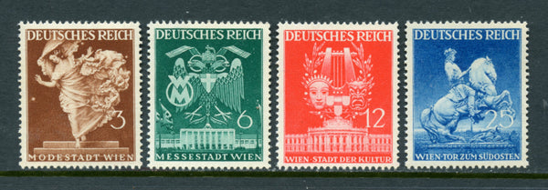 Germany Scott 502-5 Mint Never hinged