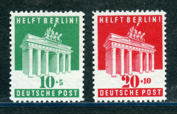 Germany Scott B302-3 Mint Never Hinged