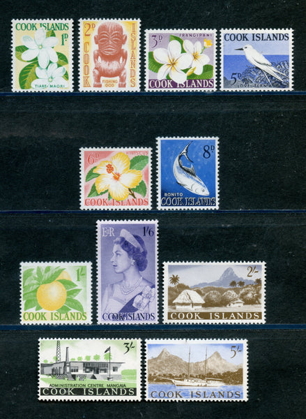 Cook Islands Scott 148-58 Mint Never Hinged