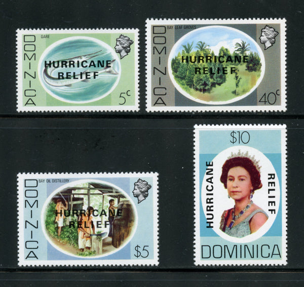 Dominica Scott 640-43 Mint NH
