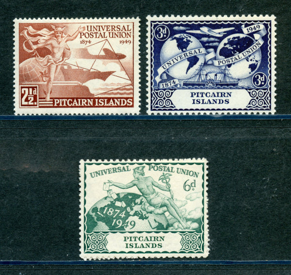 Pitcairn Islands Scott 13-16 UPU Mint Lightly Hinged