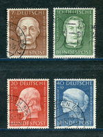 Germany Scott B338-41, Mi 200-203 Semi postal Used Set