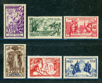 French Equatorial Africa Scott 27-32 Mint