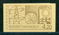 Sweden Booklet Scott 866a Fresh and Desirable