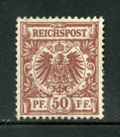 Germany Scott 51 Mint Never Hinged Gum Crack