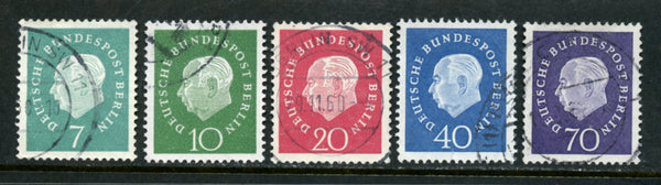Germany Scott 9N165-169 Berlin Used Set