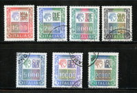 Italy Scott 1291-97 Used Set