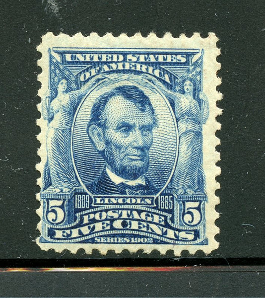US Scott 304 Lincoln Mint LH