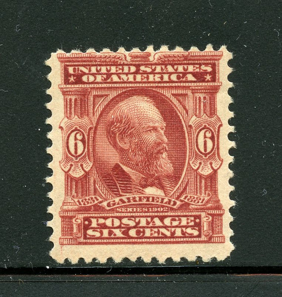 US Scott 305 Garfield VF Mint H GORGEOUS