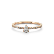 Load image into Gallery viewer, 14K Solid Gold Diamond Engagement Ring For Women - Jewelryist