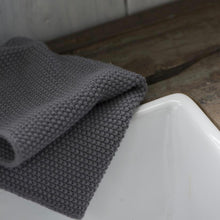 Load image into Gallery viewer, Grey Knitted Dish Cloth
