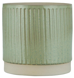 Dusty Green Flower Pot