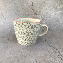 Load image into Gallery viewer, Cadi Grey Floral Mug
