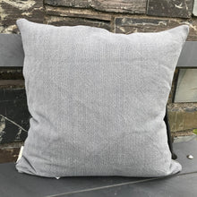 Load image into Gallery viewer, Grey Linen Cushion