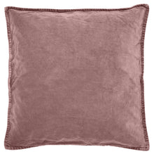 Load image into Gallery viewer, Malva Pink Velvet Cushion