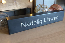 Load image into Gallery viewer, Nadolig Llawen Welsh Slate Block