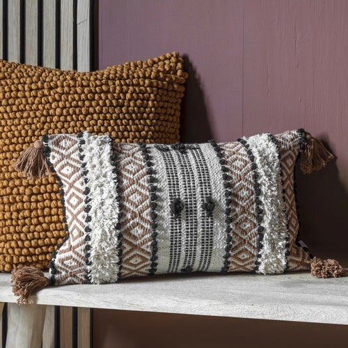 Camel Textured Cushion