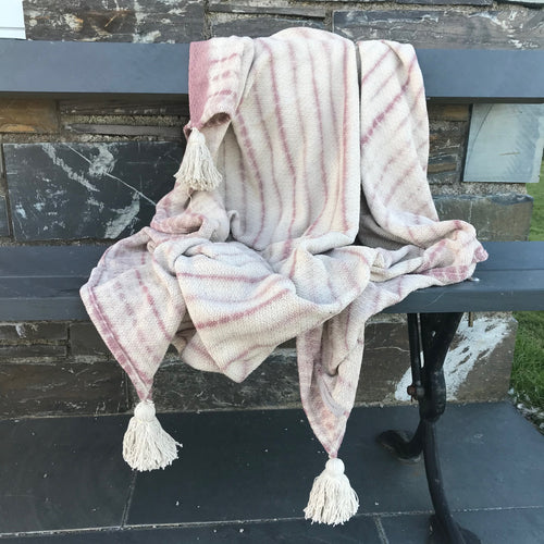 Recycled Cotton Hilaire Throw
