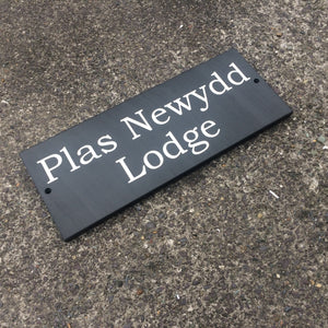 Welsh Slate House Name