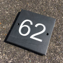 Load image into Gallery viewer, Slate House Number Sign