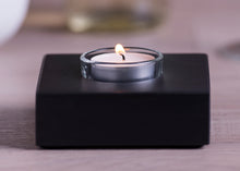 Load image into Gallery viewer, Slate Tea Light Holder