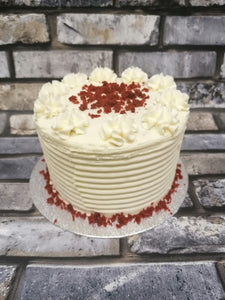 Traditional basic gateaux style cake