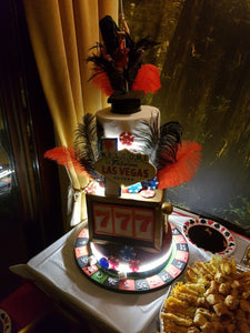 Las Vegas stripper casino cake