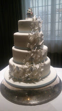 Load image into Gallery viewer, Butterfly Cascade Wedding cake