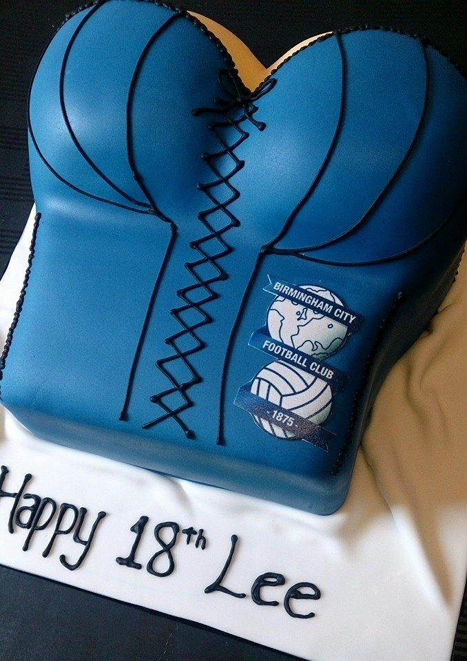 Corset bust cake