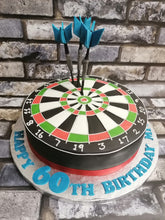 Load image into Gallery viewer, Dartboard cake