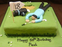 Load image into Gallery viewer, Golf cake