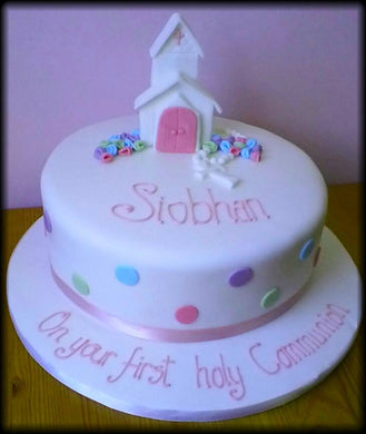 Little church communion cake