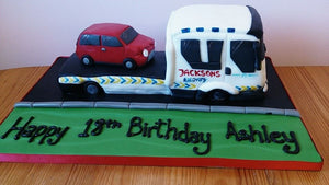 Recovery truck cake