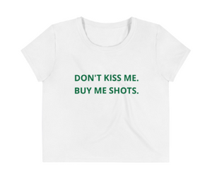 Don't Kiss Me Crop Top