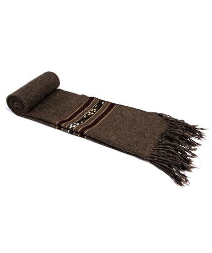 Choclate Brown Scarf for men