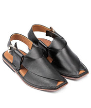 Load image into Gallery viewer, leather Peshawari Chappal