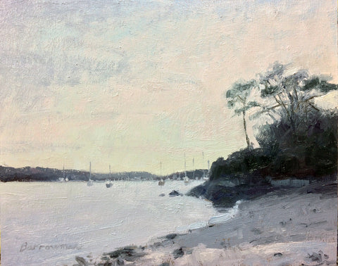 Evening on the Helford - SOLD