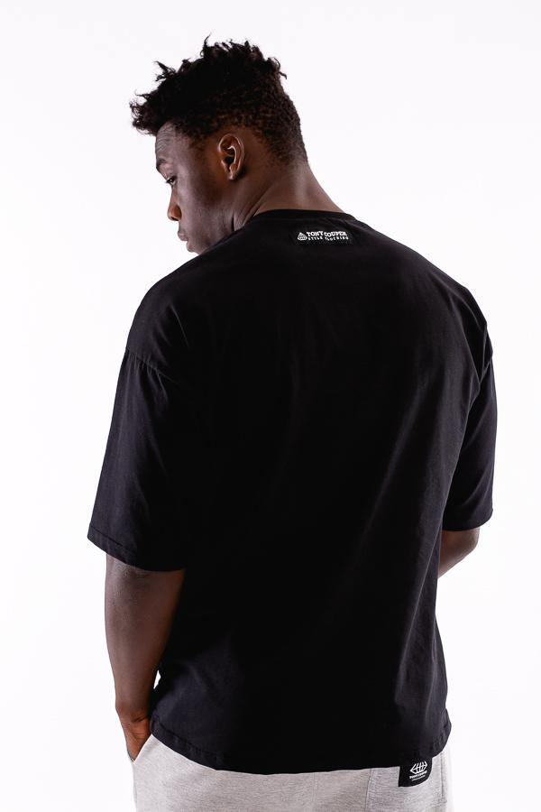 Tony Couper T-Shirt Oversize Black - Mybrands Store