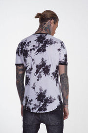 Xzeno T-Shirt Flower White - Mybrands Store